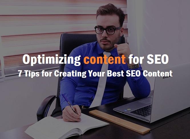 سئو محتوا optimizing content for SEO
