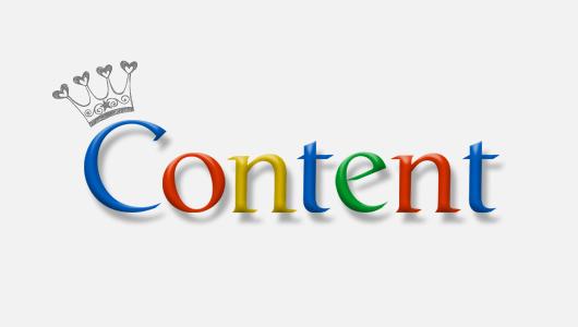 صفحه اول گوگل برای محتوا های فوق العاده است