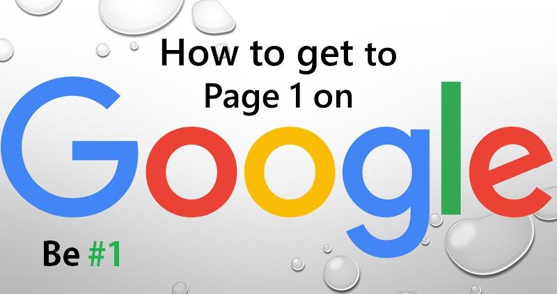 چطور سایت را به صفحه اول گوگل بیاوریم؟