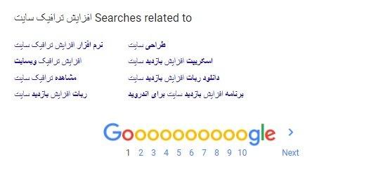 lsi پیشنهاد های گوگل