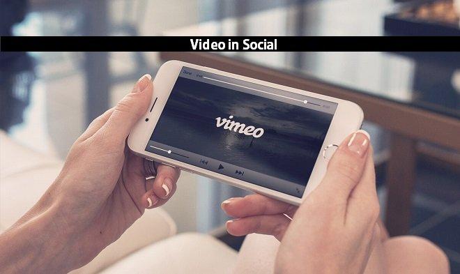ویدیو در شبکه های اجتماعی