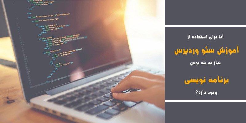 برنامه نویسی در آموزش سئو وردپرس